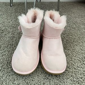 Ugg pale pink boots